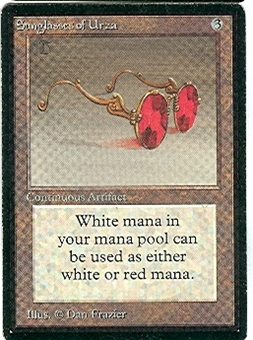 Magic the Gathering Beta Single Sunglasses of Urza - SLIGHT PLAY (SP)