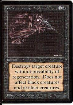 Magic the Gathering Beta Single Terror - NEAR MINT (NM)