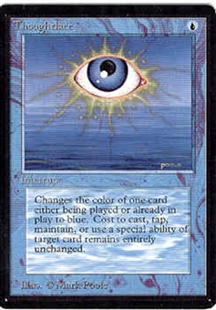 Magic the Gathering Beta Single Thoughtlace - NEAR MINT (NM)