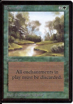 Magic the Gathering Beta Single Tranquility UNPLAYED (NM/MT)