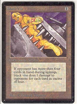 Magic the Gathering Beta Single Black Vise - NEAR MINT (NM)
