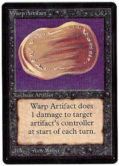 Magic the Gathering Beta Single Warp Artifact - NEAR MINT (NM)