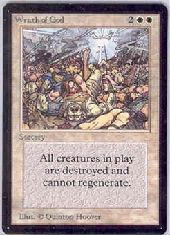 Magic the Gathering Beta Single Wrath of God - NEAR MINT (NM)