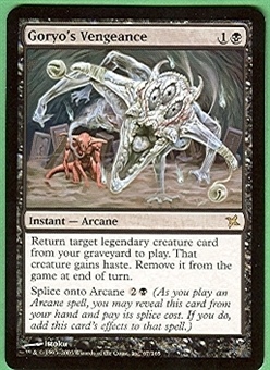 Magic the Gathering Betrayers of Kami Single Goryo's Vengeance - NEAR MINT (NM)