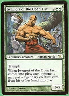 Magic the Gathering Betrayers of Kami Single Iwamori of the Open Fist - NEAR MINT (NM)