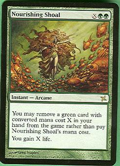 Magic the Gathering Betrayers of Kami Single Nourishing Shoal - NEAR MINT (NM)