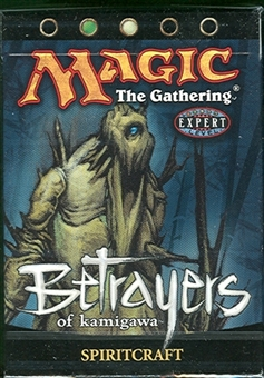 Magic the Gathering Betrayers of Kami. Spiritcraft Precon Theme Deck