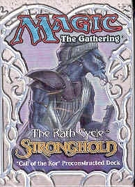 Magic the Gathering Stronghold Call of the Kor Precon Theme Deck
