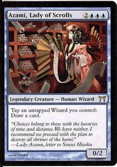 Magic the Gathering Champs of Kamigawa Single Azami, Lady of Scrolls - NEAR MINT (NM)