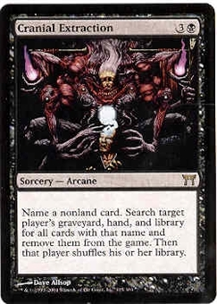 Magic the Gathering Champs of Kamigawa Single Cranial Extraction - NEAR MINT (NM)