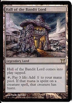 Magic the Gathering Champs of Kamigawa Single Hall of the Bandit Lord Foil