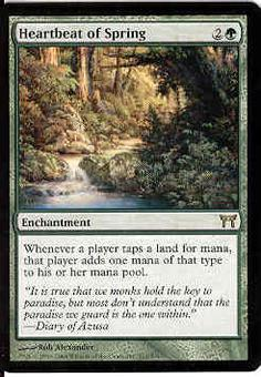 Magic the Gathering Champs of Kamigawa Single Heartbeat of Spring - NEAR MINT (NM)