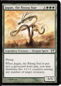 Magic the Gathering Champs of Kamigawa Single Jugan, the Rising Star UNPLAYED (NM/MT)
