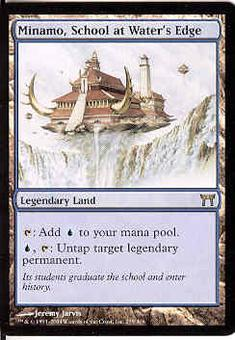 Magic the Gathering Champs of Kamigawa Single Minamo School at Water's Edge FOIL NEAR MINT