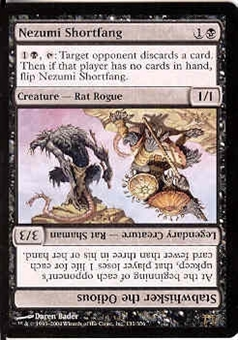 Magic the Gathering Champs of Kamigawa Single Nezumi Shortfang Foil