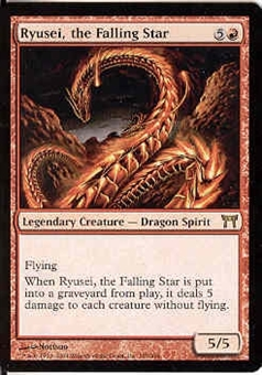 Magic the Gathering Champs of Kamigawa Single Ryusei, the Falling Star Foil