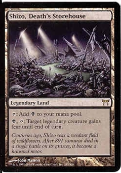 Magic the Gathering Champs of Kamigawa Single Shizo, Death's Storehouse - NEAR MINT (NM)