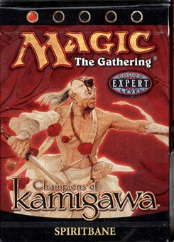 Magic the Gathering Champs of Kamigawa Spiritbane Precon Theme Deck