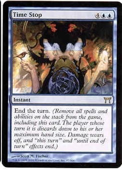 Magic the Gathering Champs of Kamigawa Single Time Stop - NEAR MINT (NM)