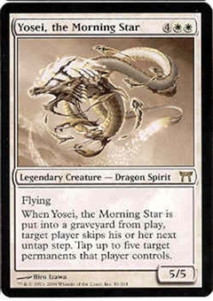 Magic the Gathering Champs of Kamigawa Single Yosei, the Morning Star - NEAR MINT (NM)