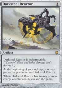Magic the Gathering Darksteel Single Darksteel Reactor - NEAR MINT (NM)