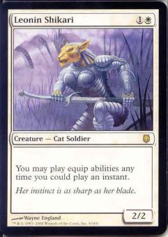 Magic the Gathering Darksteel Single Leonin Shikari LIGHT PLAY (NM)