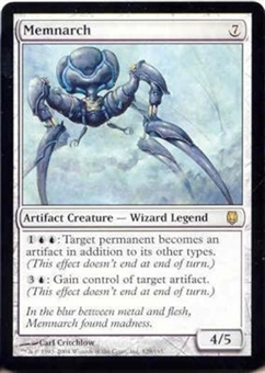 Magic the Gathering Darksteel Single Memnarch - SLIGHT PLAY (SP)