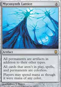 Magic the Gathering Darksteel Single Mycosynth Lattice - SLIGHT PLAY (SP)