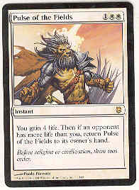 Magic the Gathering Darksteel Single Pulse of the Fields UNPLAYED (NM/MT)