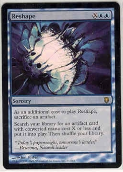 Magic the Gathering Darksteel Single Reshape Foil
