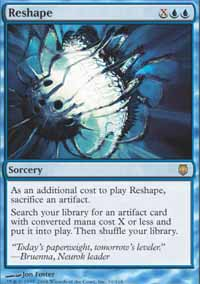 Magic the Gathering Darksteel Single Reshape - NEAR MINT (NM)