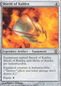 Magic the Gathering Darksteel Single Shield of Kaldra - SLIGHT PLAY (SP)