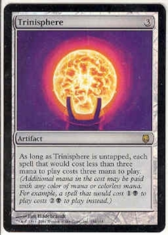 Magic the Gathering Darksteel Single Trinisphere Foil