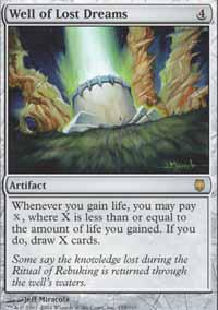 Magic the Gathering Darksteel Single Well of Lost Dreams - NEAR MINT (NM)