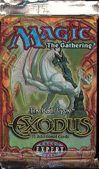 Magic the Gathering Exodus Booster Pack - CITY OF TRAITORS, SURVIVAL OF THE FITTEST !!!