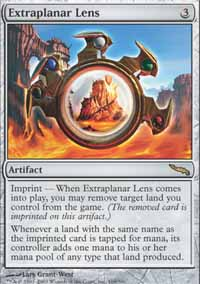 Magic the Gathering Mirrodin Single Extraplanar Lens UNPLAYED (NM/MT)