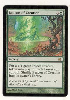 Magic the Gathering Fifth Dawn Single Beacon of Creation - SLIGHT PLAY (SP)