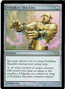 Magic the Gathering Fifth Dawn Single Vedalken Shackles FOIL