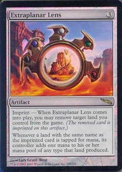 Magic the Gathering Mirrodin Single Extraplanar Lens Foil