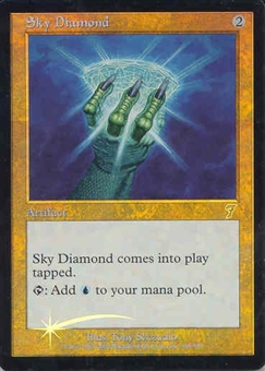 Magic the Gathering 7th Edition Single Sky Diamond Foil