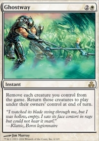 Magic the Gathering Guildpact Single Ghostway Foil