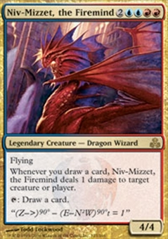 Magic the Gathering Guildpact Single Niv-Mizzet, the Firemind FOIL