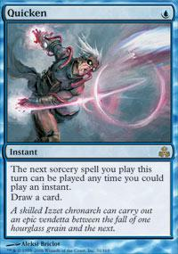 Magic the Gathering Guildpact Single Quicken - NEAR MINT (NM)