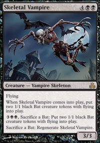 Magic the Gathering Guildpact Single Skeletal Vampire Foil