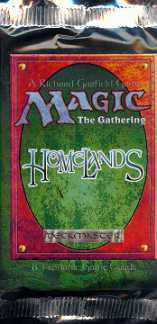 Magic the Gathering Homelands Booster Pack (Lot of 60)