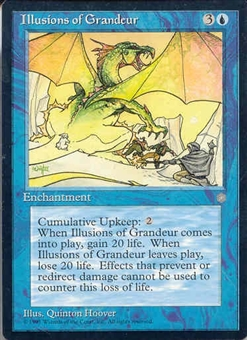 Magic the Gathering Ice Age Single Illusions of Grandeur - NEAR MINT (NM)