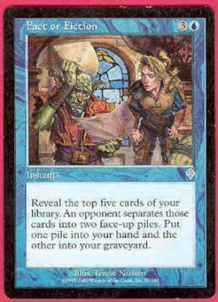 Magic the Gathering Invasion Single Fact or Fiction - SLIGHT PLAY (SP)