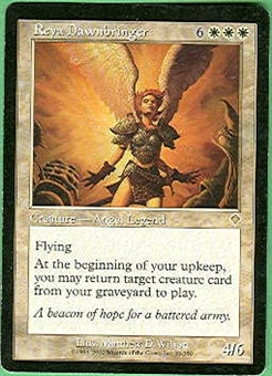 Magic the Gathering Invasion Single Reya Dawnbringer LIGHT PLAY (NM)