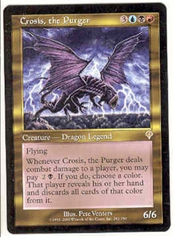 Magic the Gathering Invasion Single Crosis, the Purger UNPLAYED (NM/MT)