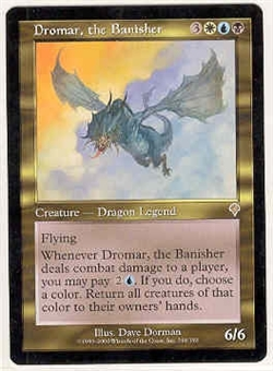Magic the Gathering Invasion Single Dromar, the Banisher UNPLAYED (NM/MT)